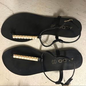 Aldo sandal pearl Details